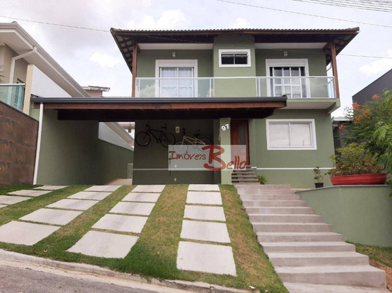 Casa Com 3 Dormitórios À Venda,condomínio Itatiba Country Club - Itatiba/sp - Ca1310