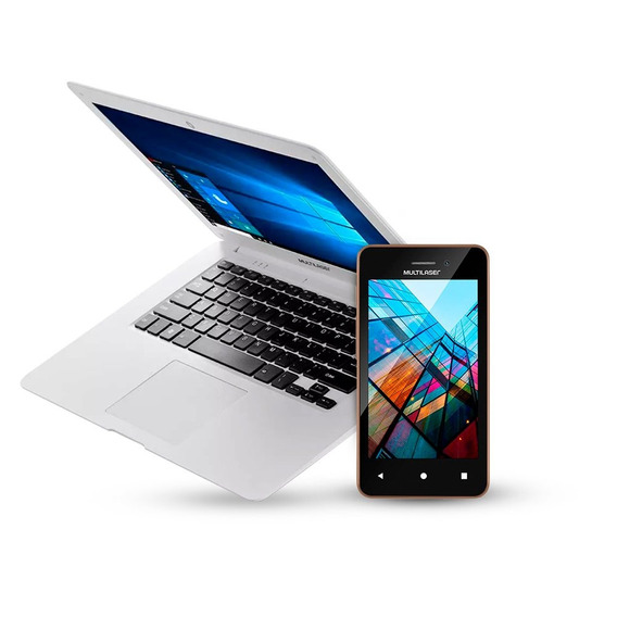 Notebook Legacy Cloud + Smartphone Ms40s Dual Chip Multilase