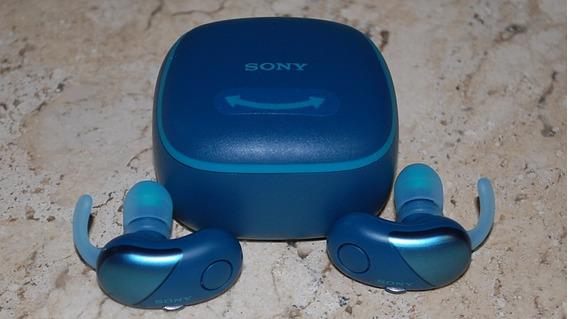 Fone Ouvido Sem Fio Sony Wf-sp700n Bluetooth/nfc Sup AirPods