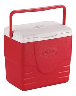 Caixa Térmica Cooler Tampa Dupla Articulada 15.1l Vermelha