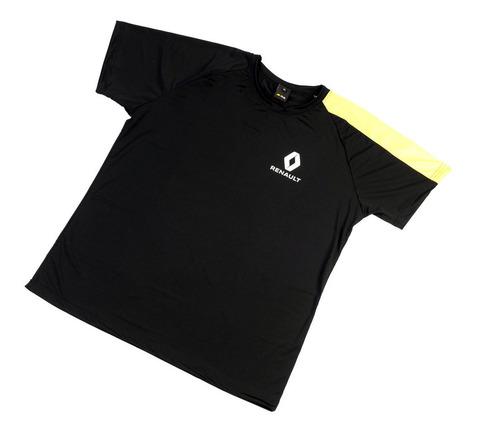 Remera Hombre Rs Manga Amarilla T:xl Boutique Renault