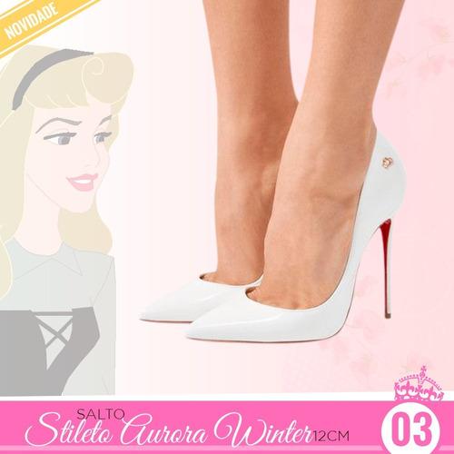 e3fae7d00 Sapato Stiletto Feminino no Mercado Livre Brasil