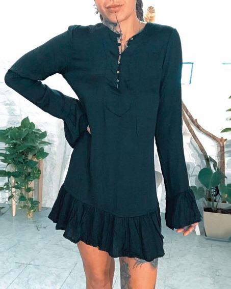 Vestido Corto De Mujer Hippie Chic Dama Art 6830