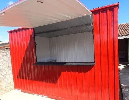 Imagem 1 de 4 de Container Desmontável P/ Lanchonete