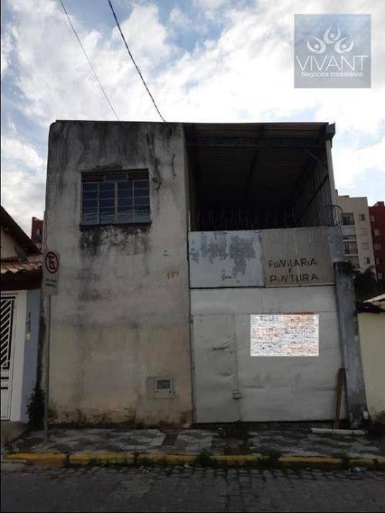 Galpão Para Alugar, 125 M² Por R$ 2.000/mês - Jardim Santo Antônio - Suzano/sp - Ga0020