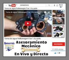 Manual Y Videos, Servicio De Taller Vw Fox,spasefox,polo 1.6