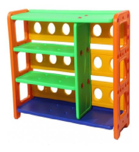 Mueble Estante 4 Repisas Plástico / Juguetón