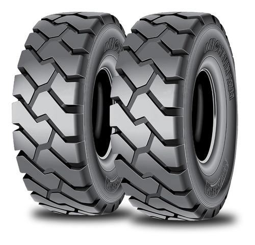 Kit X2 Neumáticos 6.50 R10 Michelin Xzm - Autoelevador
