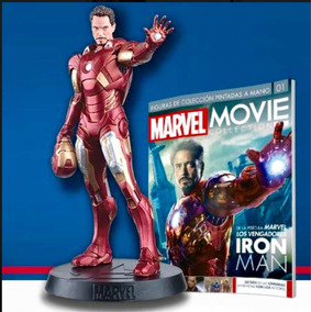 Iron Man Figura Movie Collection Seriada En Tarjeta Incluida