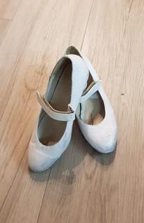 Zapatos Para Baile Jazz / Folklore En Nº 24/ 25 - Para Nena.