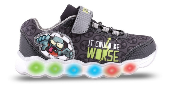 Zapatillas Zombie Infection Con Luz Footy 765 766 Mundomania