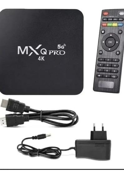 Conversor Smart Tv Box 4k Ultra Wi-fi Android Hdmi 5g 4g+32g