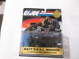 Gi Joe Rene Navy Seal Mission Torpedo And Night Landing