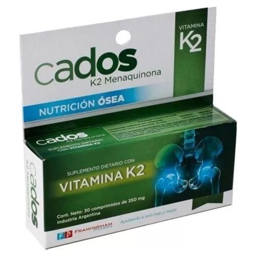 Cados Suplemento Dietario K2 Menaquinona Fortalece Huesos