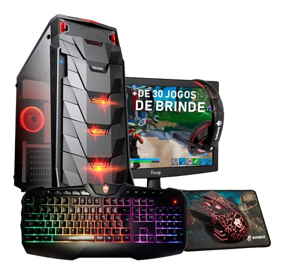 Pc Gamer Intel/core I7 / 16gb / Ssd / Gtx 1660 6gb