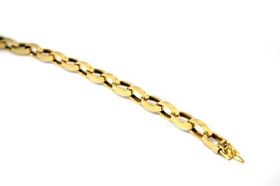 Pulseira Escrava Em Ouro 18 K