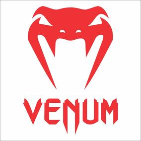 Adesivo Venum Vermelho Frete Grátis 15cmx11cm Carro Veículo