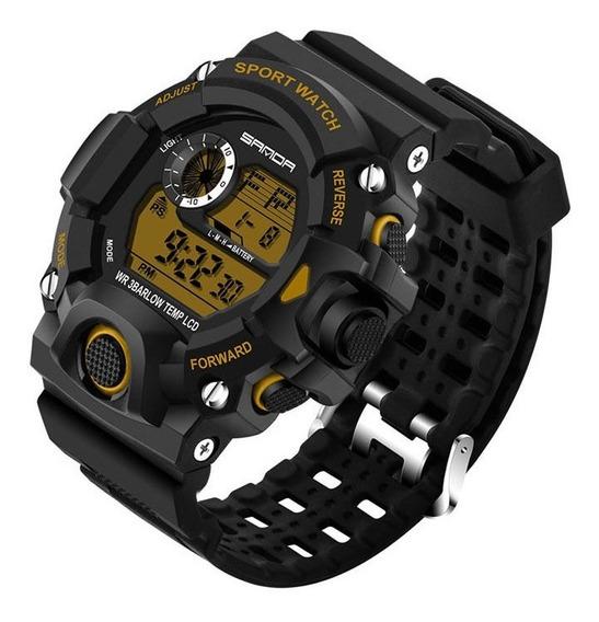 Relógio Sanda 326 Militar Tático Sport Watch A Prova D