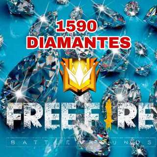 1060 Diamantes Free Fire + 530 Diamantes De Bonus