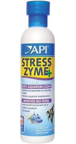 Cultivo De Bacterias Para Acuarios Stress Zyme+ Api 237ml
