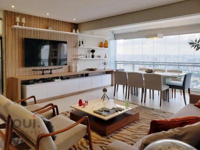 Cobertura Com 2 Dormitórios À Venda, 160 M² Por R$ 2.660.000 - Campo Belo - São Paulo/sp - Co0350