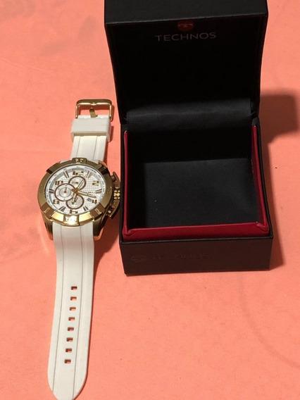 Relógio Technos Masculino Dourado Legacy Original