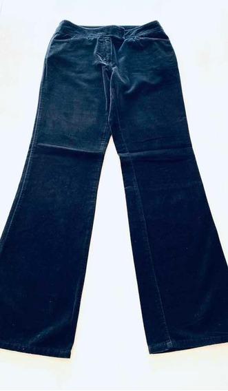Pantalon Dama Importado New York T.44 Tercioelo Negro Lindo