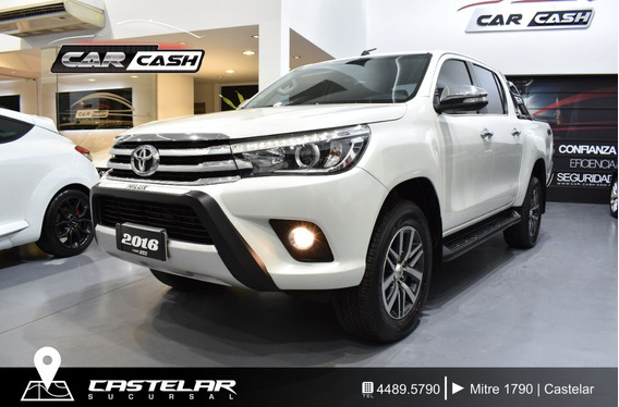 Toyota Hilux 2.8 Cd Srx 177cv 4x4 Mt - Car Cash