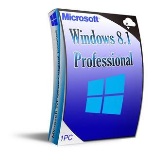 Recibe Tu Windows 8.1 Pro 1 Pc Permanente