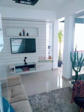 Imagem 1 de 16 de Cobertura Duplex Com 2 Dormitórios À Venda, 120 M² Por R$ 600.000 - Condomínio Semillas - Jardim Motorama - São José Dos Campos/sp - Co0121