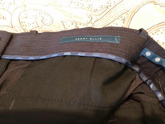 Pantalón De Vestir Perry Ellis Nuevo S/etiquetas