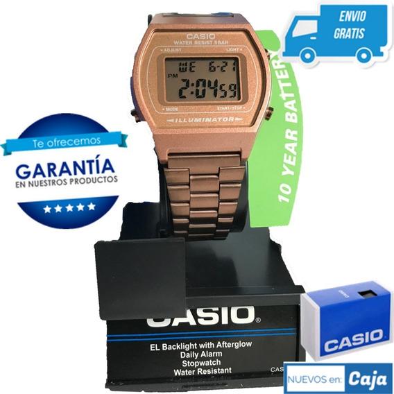 Reloj Casio B640 Rosa Vintage Retro Original