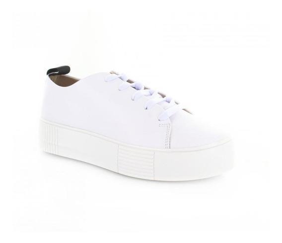 Tenis Para Mujer Brantano 4553-049776 Color Blanco