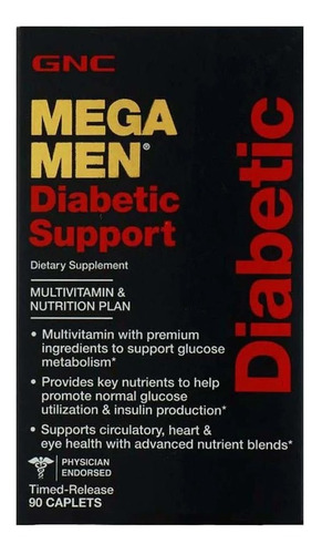 Mega Men Diabetic Support Gnc