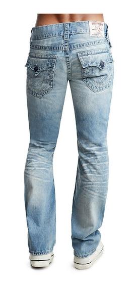 Pantalon True Religion Straight Fit Big T, Tallas 31 Y 32