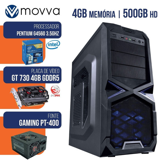 Pc Gamer Pentium G4560 3.5ghz 8gb Hd 500gb Gt 730