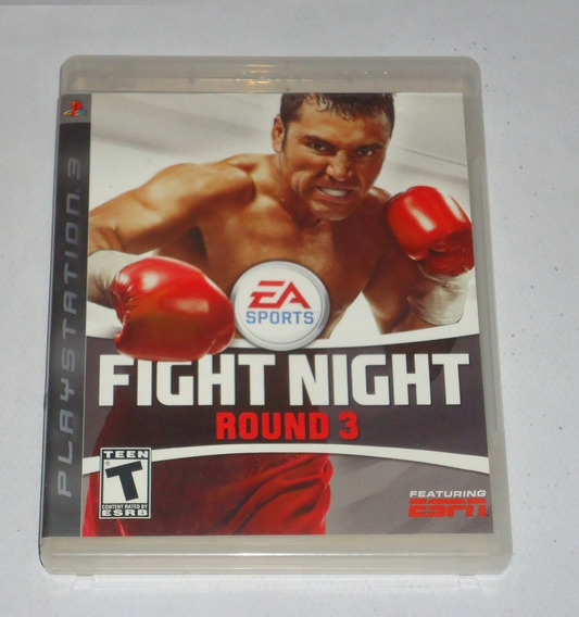 Fight Night Round 3 Ps3 ** Frete Gratis Leia