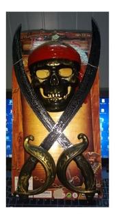 Espada Y Calavera Piratas De Juguete