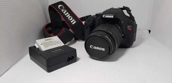 Camera Canon T3i + Lente 18 55mm 15 Ll