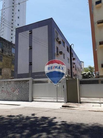 Apartamento Com 2 Dormitórios À Venda, 67 M² Por R$ 260.000 - Papicu - Fortaleza/ce - Ap0056