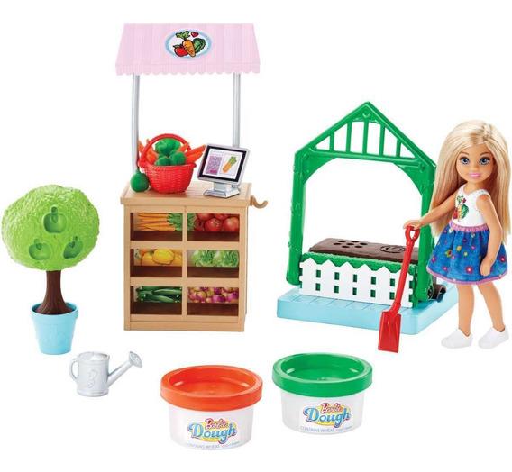 Barbie Cozinhar E Criar Horta Da Chelsea Mattel Frh75