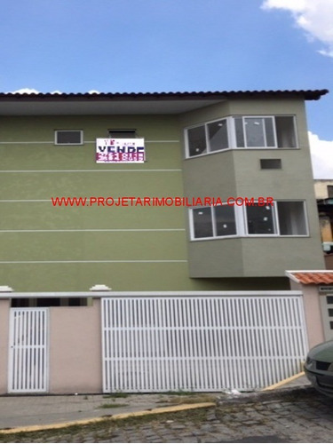 Moquetá/n.iguaçu.triplex Independente, 2 Quantos Sendo 1 Suíte, 2 Banheiros E Garagem - Ca00568 - 33573473