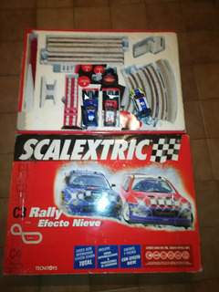 Pista Scalextric C3 Rally