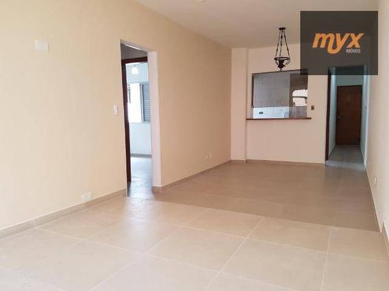 Apartamento Com 2 Dormitórios Para Alugar, 85 M² Por R$ 2.500,00/mês - Ponta Da Praia - Santos/sp - Ap5639