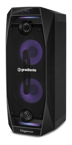Caixa Amplificada Gradiente Elegance Gca102 Bluetooth 500w