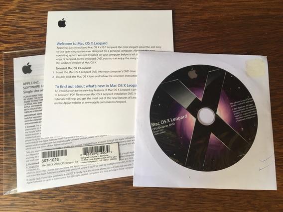 Dvd De Upgrade Mac Os X Leopard 10.5 Original