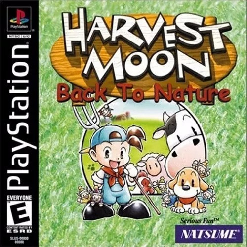 Jogo Harvest Moon - Back To Nature - Ps1one Patch