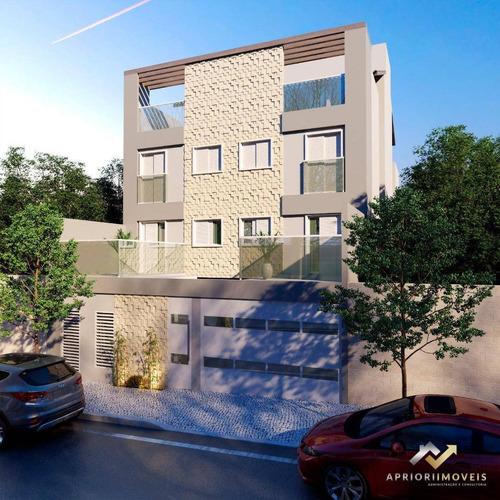 Cobertura Com 2 Dormitórios À Venda, 80 M² Por R$ 290.000,00 - Vila Junqueira - Santo André/sp - Co0732