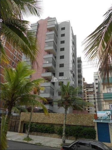 Imagem 1 de 27 de Apartamento De 2 Dormitórios, Sendo 1 Suíte, Na Aviação, Em Praia Grande - Ap2433
