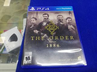 Juego Ps4 The Order Fisico